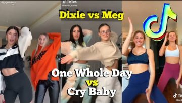 Dixie vs Megan – One Whole Day vs Cry Baby Tiktok Dance Challenge