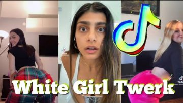 Have you ever seen a white girl twerk TikTok Compilation