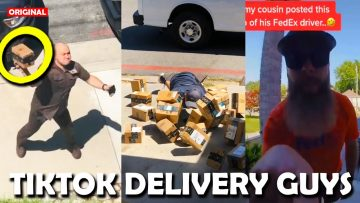 TikTok, but DELIVERY GUYS (Fails & Funny)