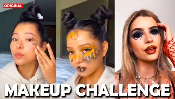 TikTok, but MAKEUP CHALLENGE